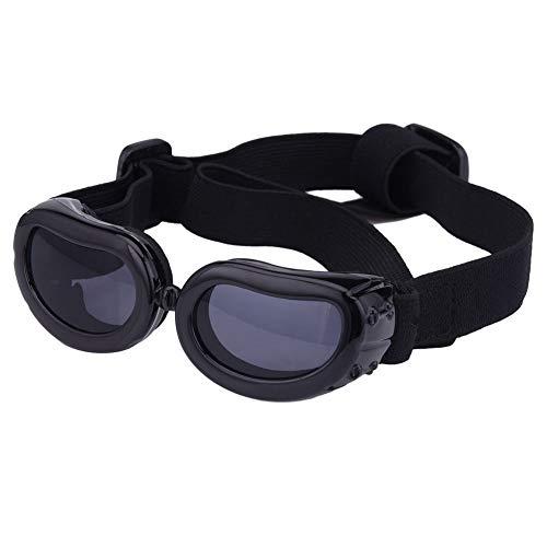 Gafas de sol para mascotas, con protección UV, impermeables, cortavientos y con...