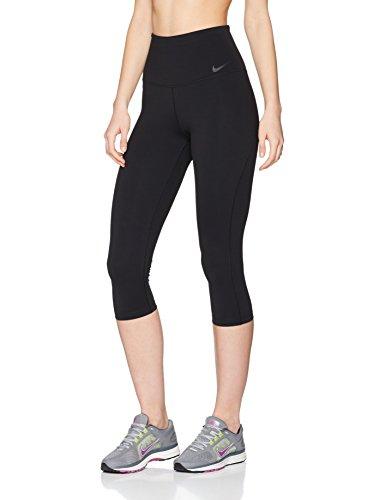 3/4 Capri Tight (Nike Damen Power Legendary Training Capri 3/4 Tights, Black, M)