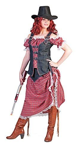 Cowgirl Nathalie Kostüm für Damen Gr. 48 50 - Tolles Wild West Kostüm