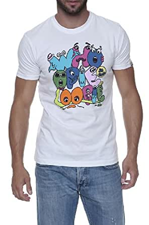 Whoopie Loopie Graphic Tee CLARENCE, Color: White, Size: L