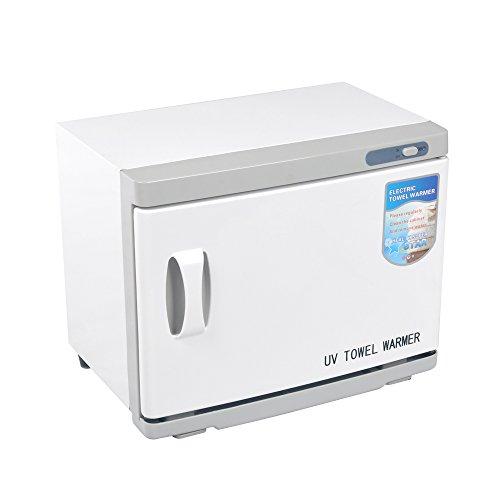 FUNTELL 16L Handtuchwärmer Kompressenwärmer UV-Licht Sterilisator Hot cabby cabinet Handtuchablage Friseursalon Kosmetikstudio