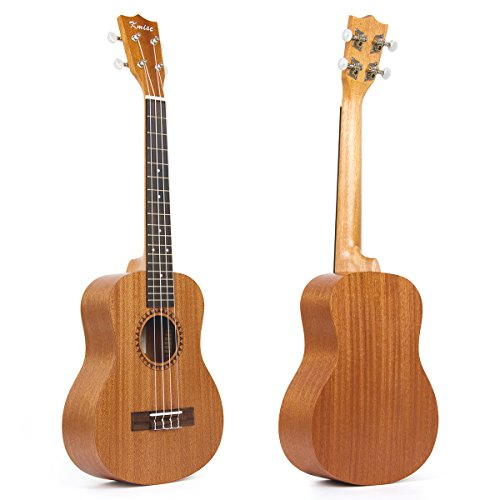 Kmise ukulele tenore per principianti adulti Kid sapele ukulele Ukele Uke chitarra a 4corde Hawaii 66cm