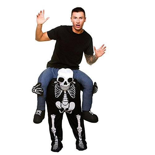 Tragen Sie Me® Skeleton Adult Kostüm One Size Fancy Dress (Dress Fancy Tragen Kostüme)