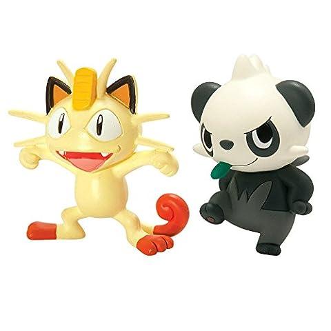 Pokémon - Jeux de Figurines - Figurine - Miaouss Vs Pandespiègle