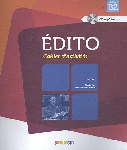 Edito niv.B2 - 2015 - Cahier + CD