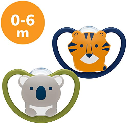 juedo de 2 /& NIP attache-sucettes MAM Perfect Start Dental X-Small 0-2 SkinSoft/™ en silicona Chupete