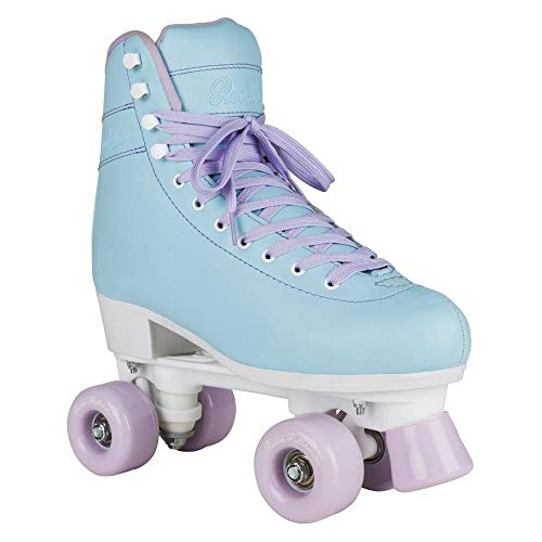 Rookie Bubblegum Quad Roller Skates (Blue, 4 UK) for sale  Delivered anywhere in UK