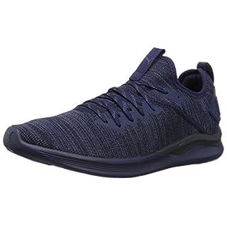Puma Men's Ignite Flash-Evoknit Competition Running Shoes, Peacoat, 12 UK