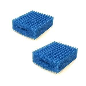 Twin Pack BioTec 5.1/10.1blau grob (Wellig) Schaumstoff