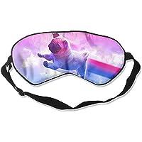 Cute Pug With Rainbow Sleep Eyes Masks - Comfortable Sleeping Mask Eye Cover For Travelling Night Noon Nap Mediation... preisvergleich bei billige-tabletten.eu