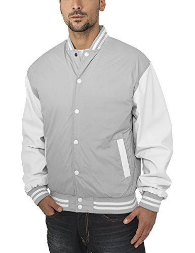 Urban Classics Herren Jacke Jacke Light Jacket Gray/White