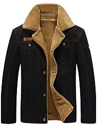 Amazon.it  cappotto velluto uomo - 2XL   Uomo  Abbigliamento 03c36272b43