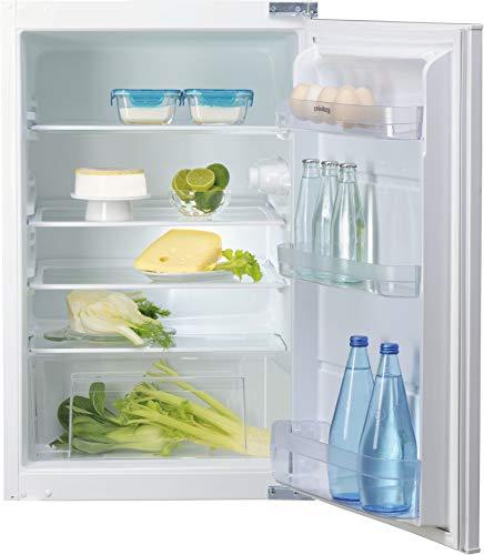 Privileg PRCIF 154 A++ Einbau-Kühlschrank A++ / 131 L Nutzinhalt / 92 kWh Strom/Jahr/leise mit 39 dB/LED-Licht/Schlepptürmontage (Nische 88)