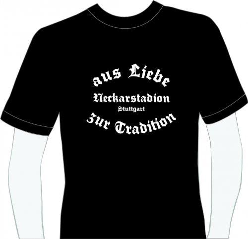 World of Football T-Shirt Neckarstadion Stuttgart