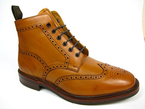 Loake, Herren Brogues Whiskey / Tan
