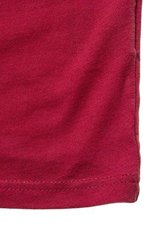 Weißes Baumwoll Top von Kitaro Rot