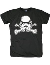 La Guerra de las Galaxias - Camiseta Stormtrooper - Soldado Imperiales - XXL