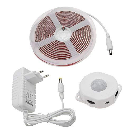 Redxiao LED-Bewegungssensor Schrank Lichter, Schrank Licht unter Kabinett Licht Bewegungssensor LED-Streifen Nachtlampe Lichter Schrank(2#)