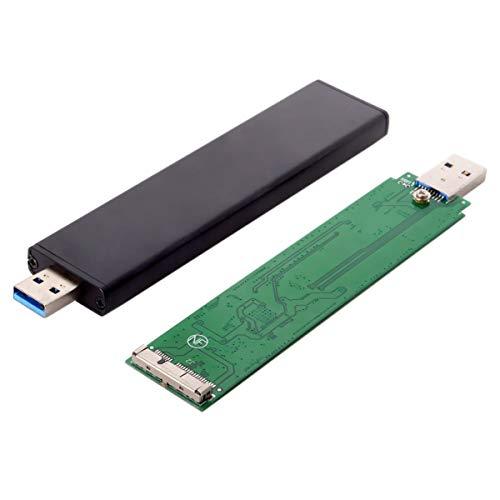 REFURBISHHOUSE USB 3.0 Bis 17 + 7 Pin Ssd HDD Fest Platten Laufwerk für 2012 MacBook Air A1465 A1466 Pro A1425