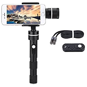 Feiyu G4 Plus + Remote Control 3-Axis Brushless Handheld Gimbal for Iphone 6 Plus/6/5s/5c and Smartphones with Similar Dimensions
