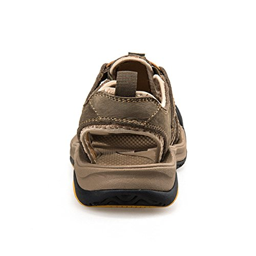 Männer Atmungsaktive Outdoor-waten Sandalen Multicolor Multi-Größe Brown