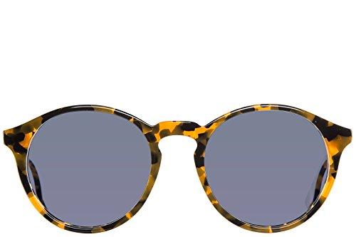 MCQ Alexander McQueen occhiali da sole uomo arancione