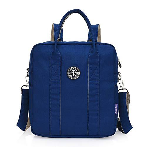 Koreanische Version der Umhängetasche Mode Handtasche Casual Handtasche kann Umhängetasche dunkelblau (Koreanische Chopper)