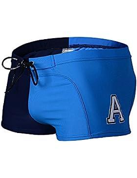 WSNH888 Swim Trunks Pantalones Para Hombres Swim Suits Hombres Adultos Quick-Drying Hot Springs Trajes De Baño...