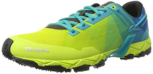 Salewa Herren MS Lite Train Outdoor Fitnessschuhe, Grün (Sulphur/Viridian Green 5112), 43 EU