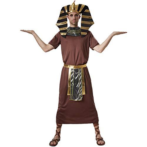 dressforfun 900551 - Costumi Uomo Adulti Faraone Ramsete, Faraone dell'Antico Egitto (XL | No. 302536)