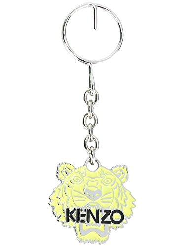 kenzo-portachiavi-uomo-f665ac300o2112-metallo-giallo
