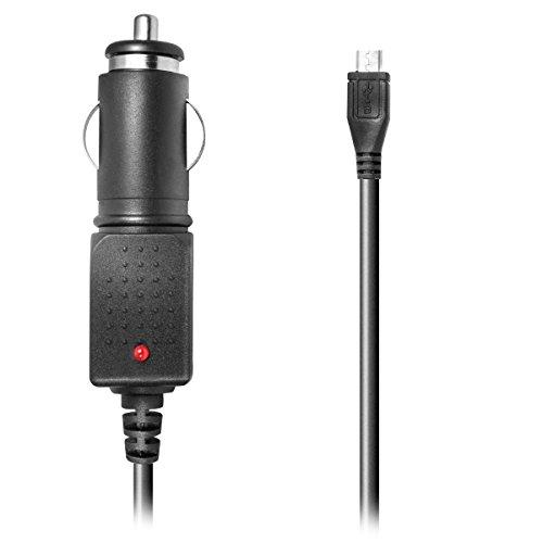 Kfz-Ladekabel für HTC HD2 Leo, Rome, Desire, Legend, HD/ HD2/ HD mini (micro USB 1A)