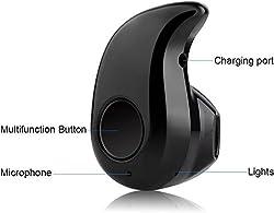 SCORIA Mini S530 Wireless Bluetooth Headset - Black (ONE YEAR WARRANTY)