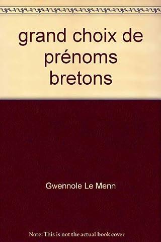 Prenoms Bretons - grand choix de prénoms