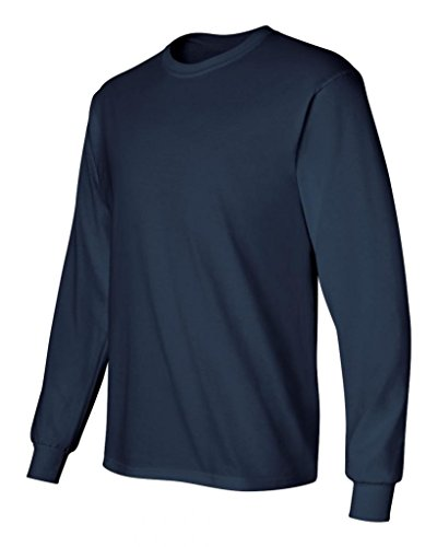 Gildan Kleidung–Hemd Blau - Marineblau