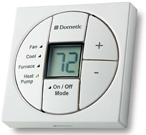 Duotherm Single Zone Thermostat - Use W/Heat Kit - White - 3313189.049 by Dometic Dealer Direct