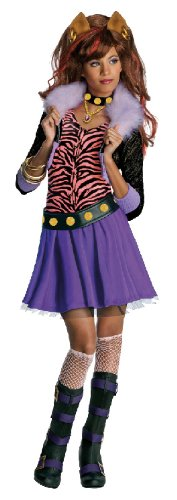 üm Monster High Clawdeen Wolf Fasching Größe L ()