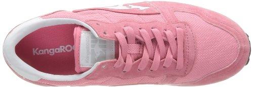 KangaROOS  Blaze III,  Unisex - Erwachsene Sneaker Rosa - Rose (610 Plastic Pink White)