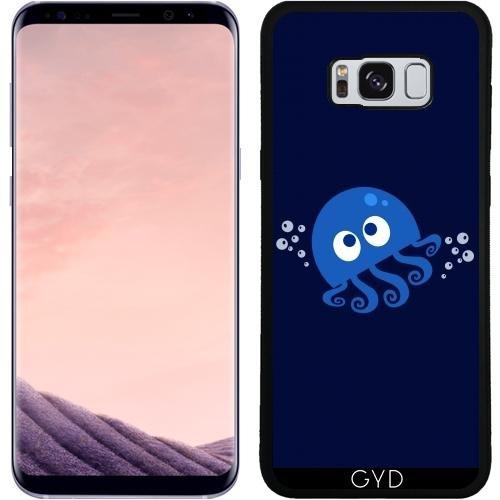 DesignedByIndependentArtists SilikonHülle für Samsung Galaxy S8 Plus (SM-G955) - Sprudelnde Krake by AnishaCreations