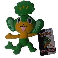Pokemon 3,5 cm, portachiavi di peluche Pansage Wave