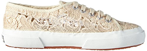 Superga 2750 Macramew, Chaussons Sneaker Adulte Mixte Beige (Ivory)