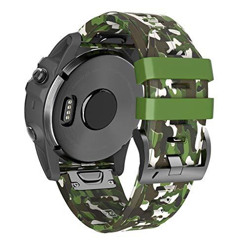 jieGREAT ❤❃ Räumungsverkauf❤❃ ,Silicone Bracelet Watch Band Wrist Strap for Garmin Fenix 5X/5X Plus Fenix 3/HR Wide-band Noise Cancelling Headset