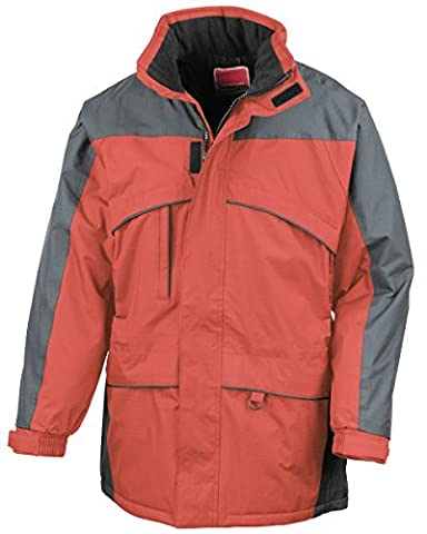 Result Seneca midweight performance jacket - Red/Anthracite - L