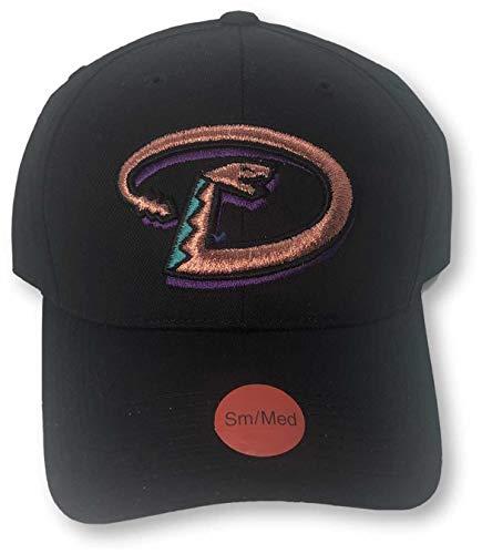 OCSports Arizona Diamondbacks Throwback Logo für Teenager und Erwachsene, mit Snapback