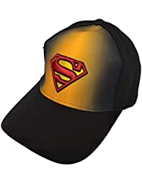 Krystle Unisex Stretchable Cotton Fabric Superman Baseball Cap Best Quality Two in One Colour Stylish Latest Snapback Cap