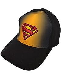 cc4f5718fd1 Devil Women s Stretchable Cotton Fabric Superman Baseball Cap Two in One  Colour Stylish Latest Snapback Cap
