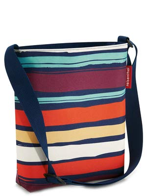 reisenthel shoulderbag S artist stripes Maße: 29 x 28,5 x 7,5 cm / Volumen: 4,7 l