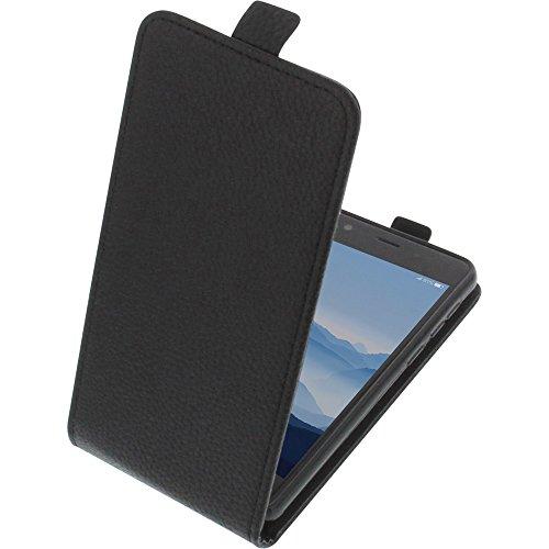 foto-kontor Tasche für Elephone P8 Mini Smartphone Flipstyle Schutz Hülle schwarz