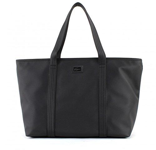 LACOSTE Women's Classic Large Shopping Bag Black