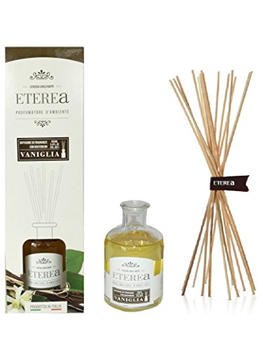 Profumatore per ambiente con bastoncini eterea essenza vaniglia 100 ml